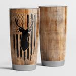 Deer Hunting flag - Tumbler 20Oz