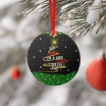 Dear Santa - good teacher  - Ornament
