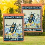 Pollinator Friendly gardenPo- Bee
