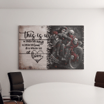 This is us - Skull Motorcycles -  Canvas