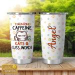 I run on caffeine cats & cus words