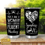 Yes i am a woman - Love Hockey