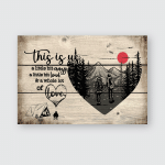 This is us - Camping - Poster and Canvas