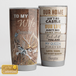 To my wife - Deer - Tumbler 20Oz - T0411