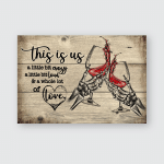 This is us - Wine - Poster and Canvas