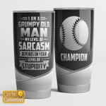 I am a grumpy old man - baseball