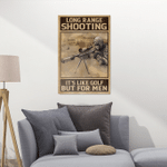 Long ranger shooting - Poster and Canvas