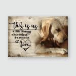 This is us - Labrador - Poster and Canvas