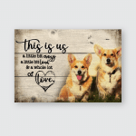 This is us - Corgi - Poster and Canvas