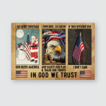 In god we trust - Poster and Canvas