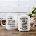 Dead dad - I love youe like a hobbit loves second breakfast