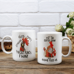 Put the coffe down and come feed us - Two-sided Mug