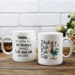 Suh duh fuh cup - Coffee - Chicken
