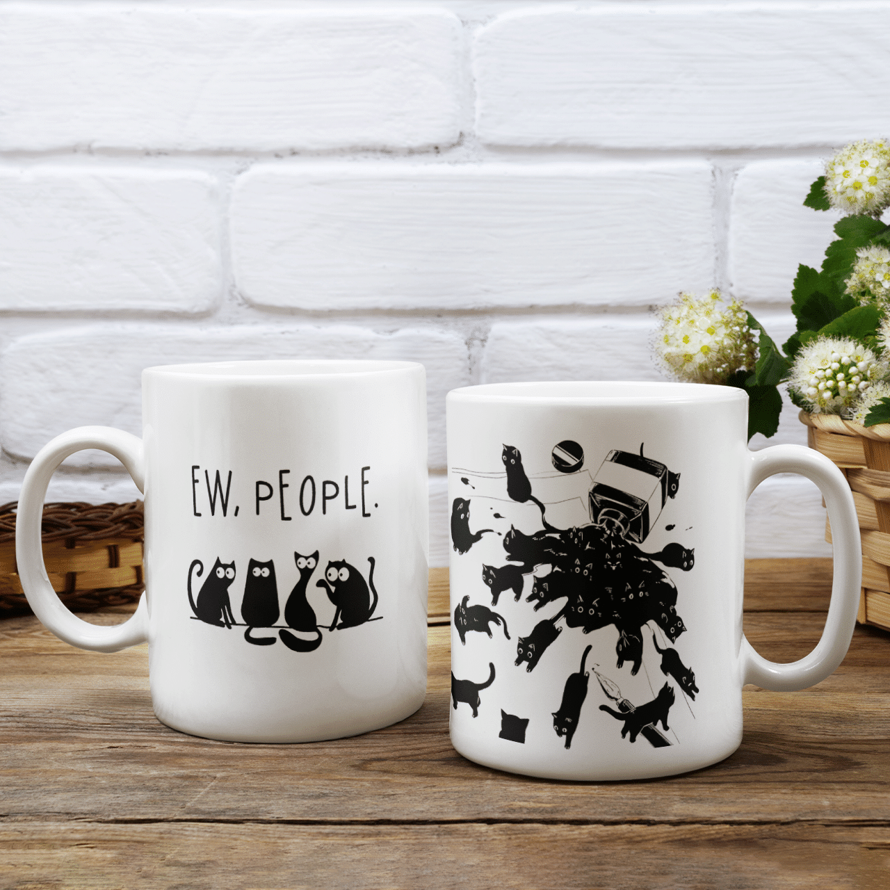 Ew, people - Two side Mug