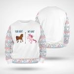My aunt - 55 - Kid Sweatshirt