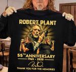 Robert Plant 55th anniversary Thank you for the memories T-shirt, Sweatshirt, Hoodie