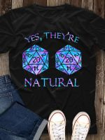 Yes, they're natural T-shirt, Sweatshirt, Hoodie