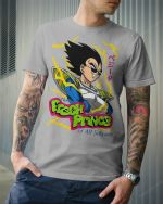 The Fresh Prince of all Saiyan T-shirt, Sweatshirt, Hoodie