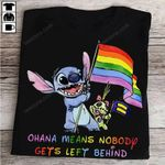 Ohana means nobody gets left behind Stitch T-shirt, Sweatshirt, Hoodie