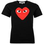 Comme des garcons red heart black T-shirt, Sweatshirt, Hoodie