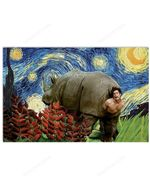 Ace Ventura Rhino birth poster - Jim Carrey poster