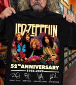 Led Zeppelin 52th anniversary 1968-2020 T-shirt, Sweatshirt, Hoodie
