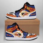Goku Classic Sneaker Boots J1 Dragon Ball Z Anime Shoes Fan Gift MN04
