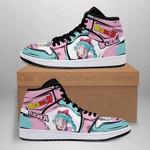 Bulma Sneaker Boots J1 Dragon Ball Z Anime Shoes Fan Gift MN04