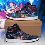 Goku Sneaker Boots J1 Galaxy Dragon Ball Z Shoes Anime Fan PT04