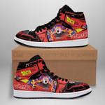 Jiren Power Sneaker Boots J1 Dragon Ball Super Shoes Anime Fan Gift Idea MN05