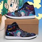 Bulma Sneaker Boots J1 Galaxy Dragon Ball Z Shoes Anime Fan PT04