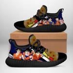 Goku Sneakers Reze Dragon Ball Shoes Anime Fan Gift Idea TT04