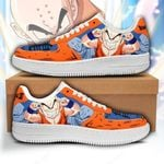 Krillin Sneakers Custom Dragon Ball Shoes Anime Fan Gift PT05