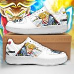Trunks Sneakers Custom Dragon Ball Z Shoes Anime PT04