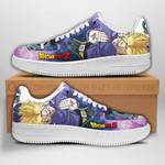 Trunks Sneakers Dragon Ball Z Shoes Anime Fan Gift PT04
