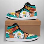 Kid Trunks Sneaker Boots J1 Dragon Ball Z Anime Shoes Fan Gift MN04