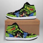 Bardock Sneaker Boots J1 Dragon Ball Z Anime Shoes Fan Gift MN04