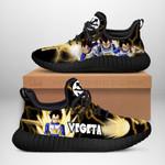 Vegeta Classic Sneakers Reze Dragon Ball Shoes Anime Fan Gift TT04