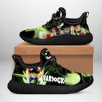 Bardock Sneakers Reze Dragon Ball Shoes Anime Fan Gift TT04