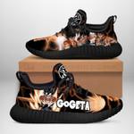 Gogeta Classic Sneakers Reze Dragon Ball Shoes Anime Fan Gift TT04