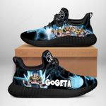 Gogeta SSJ Sneakers Reze Dragon Ball Shoes Anime Fan Gift TT04