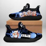 Krillin Sneakers Reze Dragon Ball Shoes Anime Fan Gift TT04