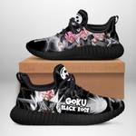 Goku Black Rose Sneakers Reze Dragon Ball Shoes Anime Fan Gift TT04