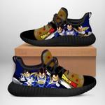Vegeta Sneakers Reze Dragon Ball Shoes Anime Fan Gift Idea TT04