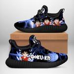 Kid Goku Sneakers Reze Dragon Ball Shoes Anime Fan Gift TT04