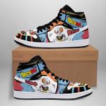 Belmod Sneaker Boots J1 Dragon Ball Super Shoes Anime Fan Gift Idea MN05