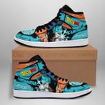 Goku Blue Sneaker Boots J1 Dragon Ball Shoes Anime Fan MN05