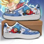 Future Trunks Sneakers Custom Dragon Ball Shoes Anime Fan Gift PT05