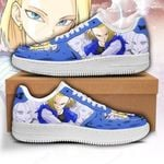 Android 18 Sneakers Custom Dragon Ball Shoes Anime Fan Gift PT05