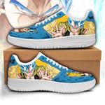 Gogeta Sneakers Custom Dragon Ball Shoes Anime Fan Gift PT05